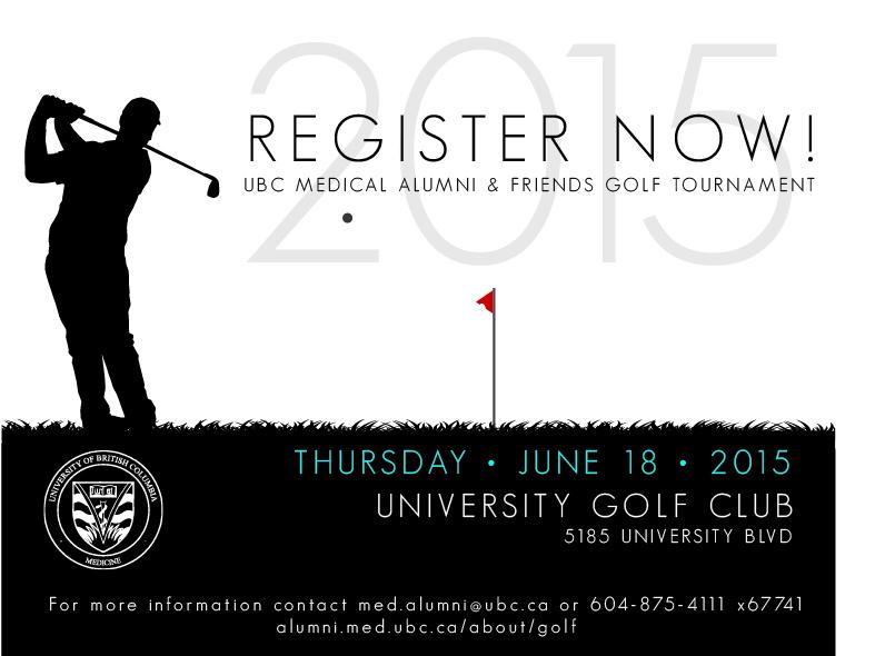 Medical Alumni & Friends Golf Tournament_Register Now Ad Web